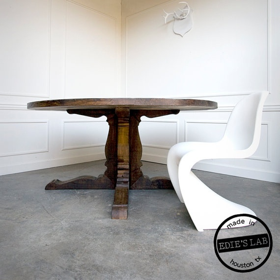 9 Best Reclaimed Wood Round Table Images On Pinterest Reclaimed Wood Tables Dining Room And