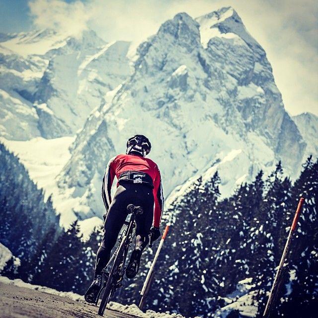 Wellhorn in the face - Biking Switzerland