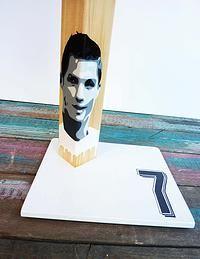 Ronaldo handmade wooden table lamp