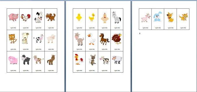 Znaczki do szatni - do drukowania, edytowania i udostępniania - Pani Monia