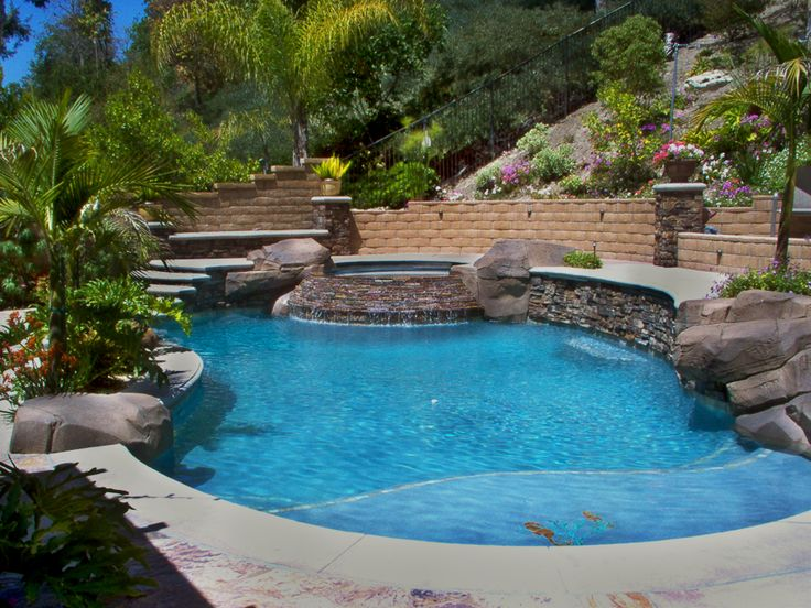 38 Best Pool Side Images On Pinterest Backyard Ideas