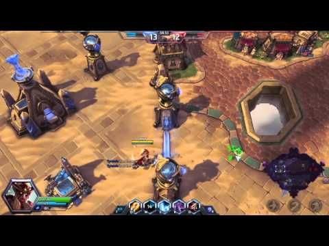 Heroes of the Storm Tyrande Gameplay