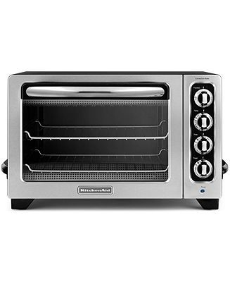 KitchenAid KCO222OB Countertop Toaster Oven - Toasters & Toaster Ovens - Kitchen - Macy's