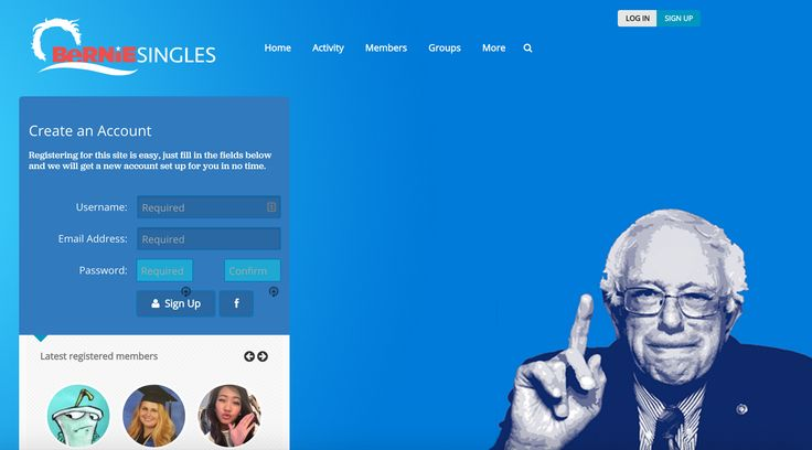 BernieSingles Is A New #Dating Site For Singles With Love For Bern