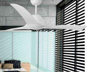 Faro Lakki 33317 Ventilatore da Soffitto Bianco lucido