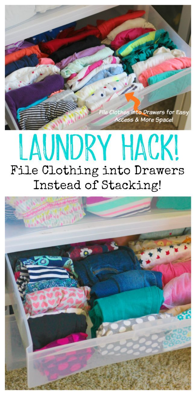 Filing Laundry Instead Of Stacking In Kids Drawers Helpful Tips And Tricks Pinterest Dresser Drawer Organization Drawe