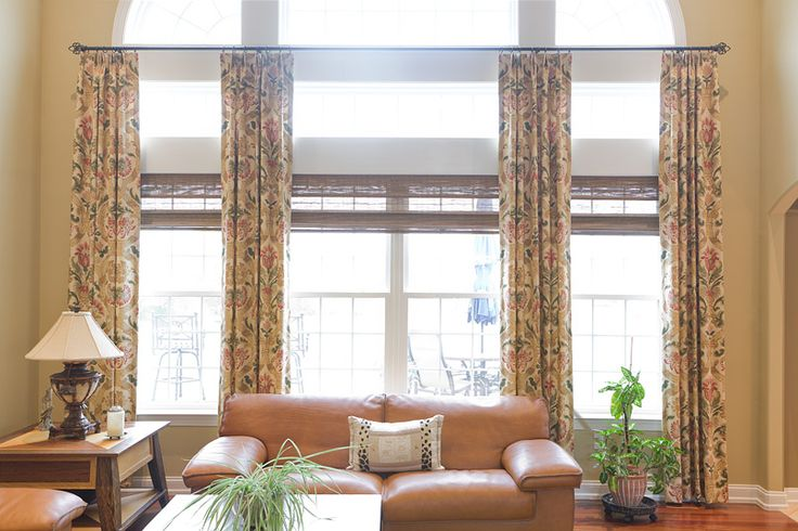 98 best high ceilings tall walls images on pinterest High ceiling window treatments