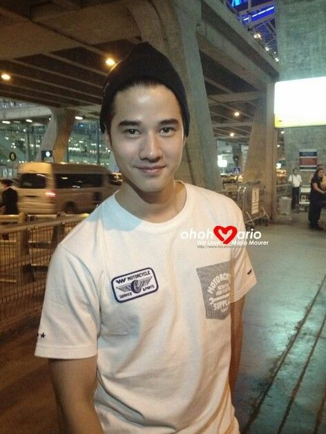 Mario Maurer - just back from China.