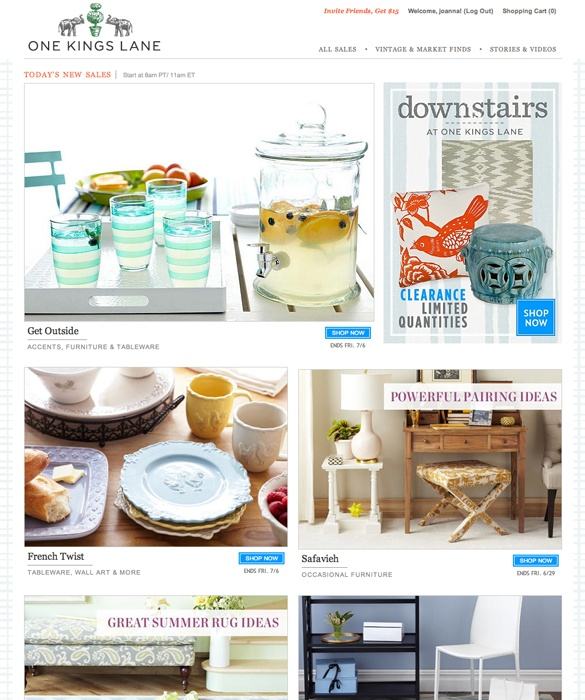 21 best images about websites on pinterest open for Flash sale sites for home