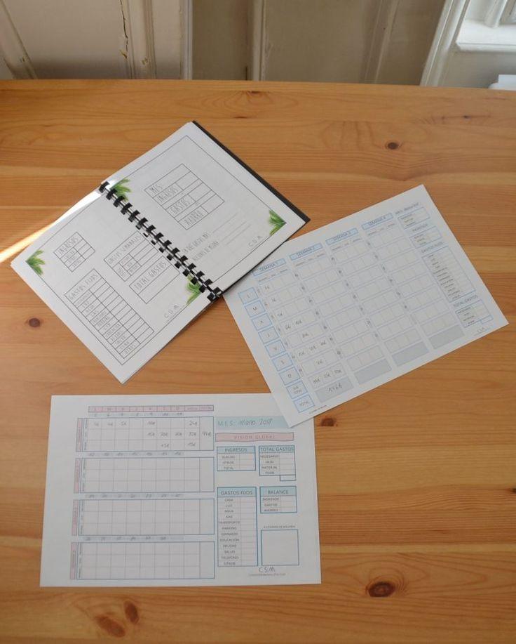 KAKEBO DIY PARA AHORRAR DINERO | COMO SER MINIMALISTA Bullet Journal Notes, Bullet Journal School, Family Planner, Create A Budget, Free Printables, Saving Money, Budgeting, Diy, Planner Ideas