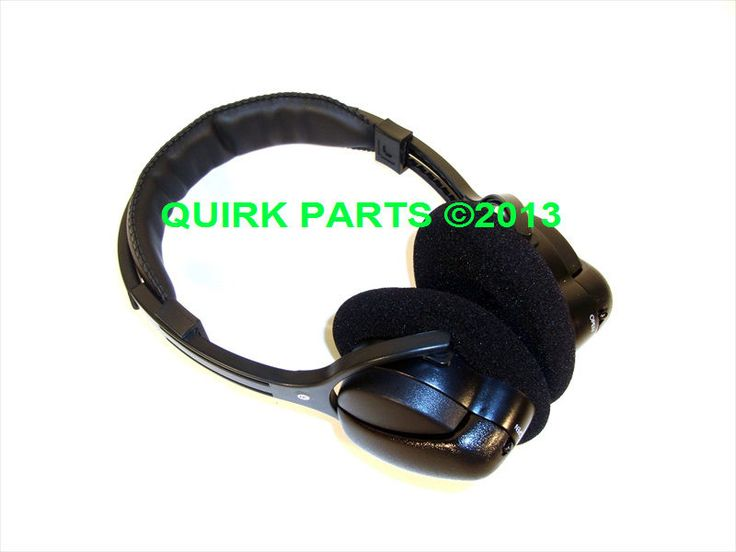 2007-2013 Jeep Dodge Chrysler Wireless Infrared Headphones OEM NEW MOPAR GENUINE #Mopar