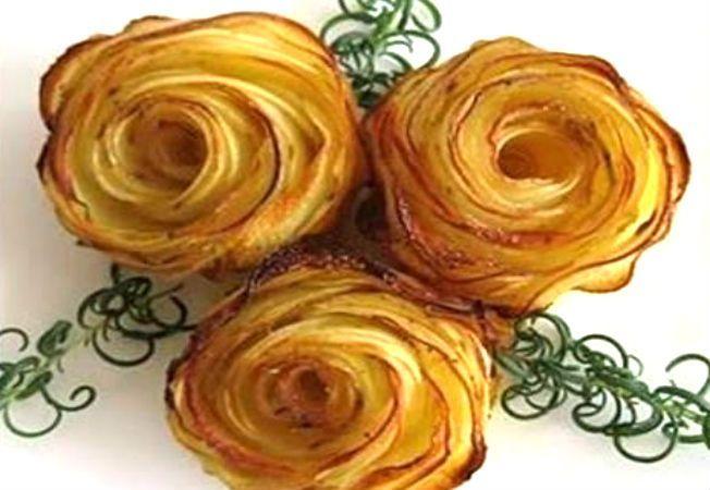 Trandafiri crocanti din... cartofi! O reteta perfecta pentru copii