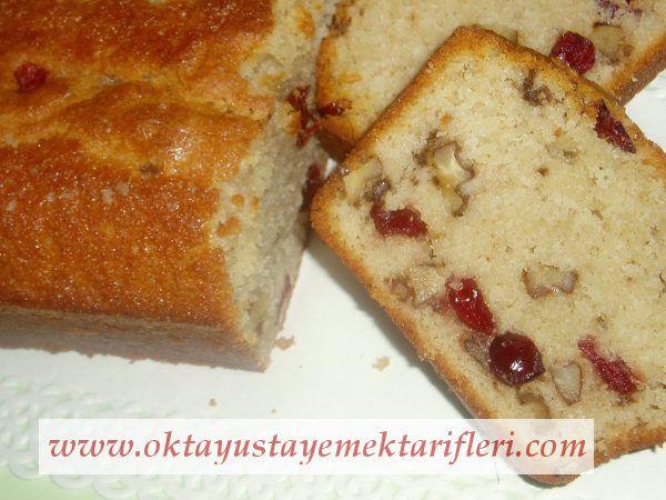 Yabanmersini ve Ceviz ile Kek - Oktay Usta Kek Tarifleri. Kek nasıl yapılır? Oktay Usta resimli Yabanmersini ve Ceviz ile Kek Tarifi yapılışı için tıklayın.