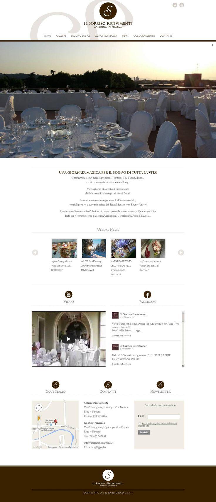 www.ilsorrisoricevimenti.it