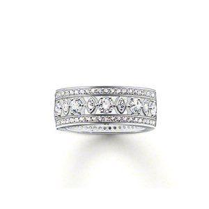 Ring Tr1956-051-14 Thomas Sabo Ring Tr1956-051-14 £212.34  £26.99 27 reward points