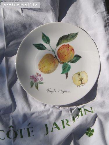 Marimerveille peinture sur porcelaine cuisson haute for Decoration sur porcelaine