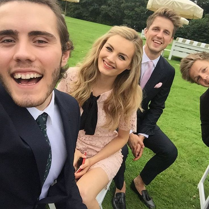 Alfie, niomi, marcus, and caspar at jim and tanyas wedding