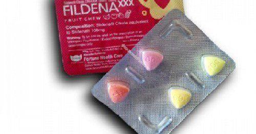 FildenaXXX (Sildenafil Citrate Chewable 100mg Tablets)