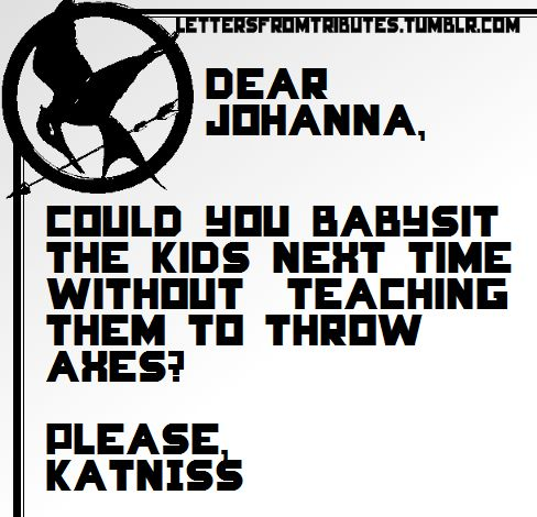 Haha this makes my life! It seems like something Johanna would do ;)