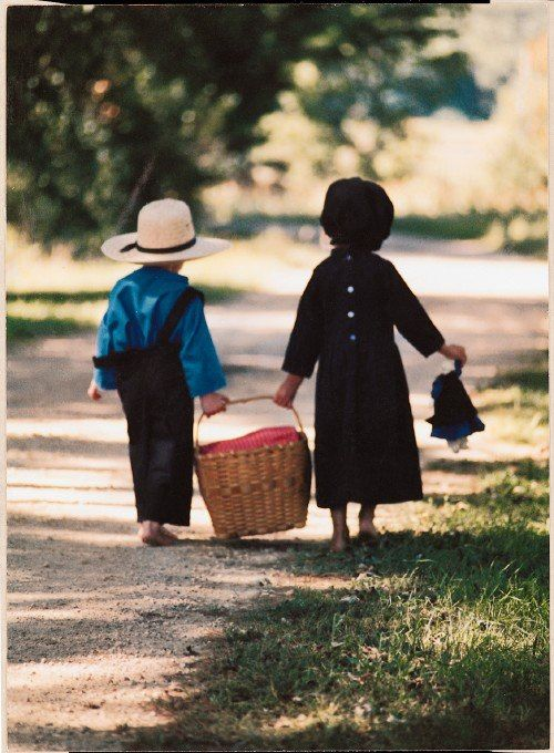brother & sister amish