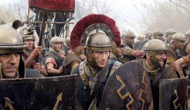 Roman Legion | ... is from the Caesarian Roman period, but it is a damn cool picture