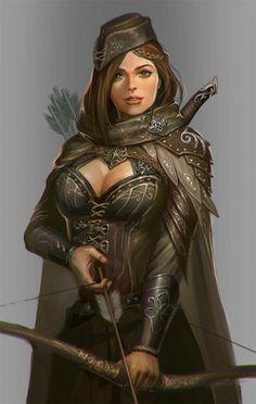329 Best Images About Fantasy Archers Rangers Druids On