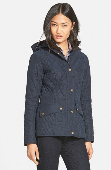 Barbour 'Brocklane' Waterproof Quilted Jacket available at #Nordstrom