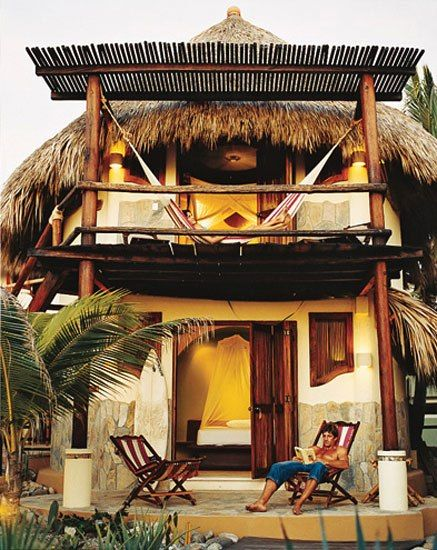Mazunte's Punta Placer Hotel - San Agustinillo, Oaxaca, Mexico Great spot-BGS
