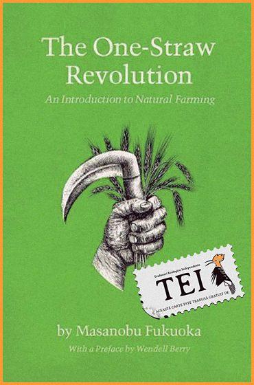 """Masanobu Fukuoka – Revoluție într-un spic colecția de Agricultură sustenabilă 124 pagini """"Scopul ultim al agriculturii nu este de a cultiva terenul, ci acela de a cultiva şi perfecţiona…"""