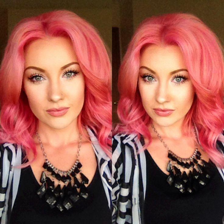 pravana pastels hair color Too Cute Coral/Pink