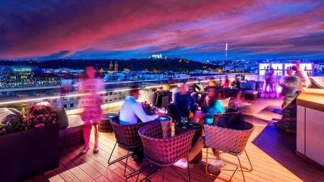 4 Best Rooftop Bars In Prague 2019 Update Skyline Rooftop Restaurant Lounge And Bar 15 Must Visit Rooftop Rooftop Restaurant Cafes Near Me Best Rooftop Bars