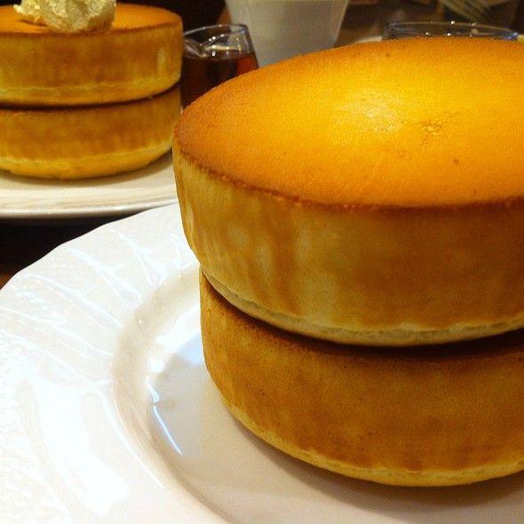 Double Souffle Pancakes @ HOSHINO COFFEE 星乃珈琲店