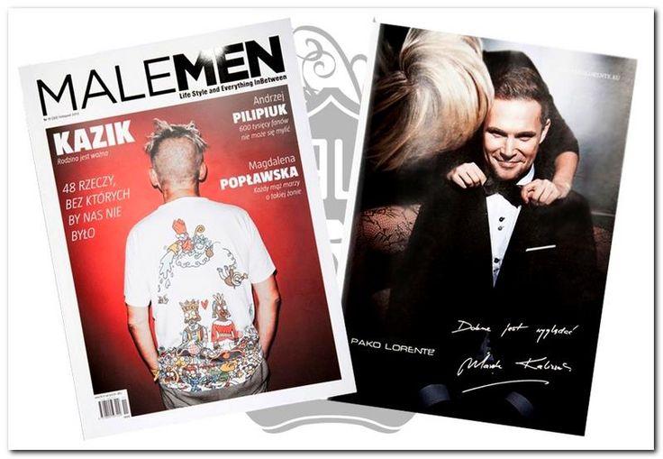 MaleMen z Markiem Kaliszukiem, ambasadorem marki Pako Lorente w roli głównej.