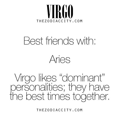 Zodiac Virgo Best Friend | TheZodiacCity.com