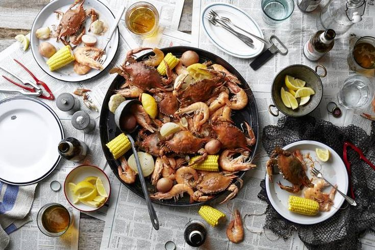 let the good times roll with a cajun seafood boil. Black Bedroom Furniture Sets. Home Design Ideas