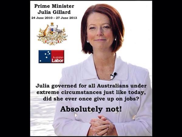 Education and jobs, she tried to better that for all of us, not just her mates.