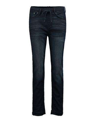 Blue dark Jeans aus dem Hause EDC by Esprit präsentiert im legeren Freizeit-Style. Dank des typischen Waschungseffekts wirkt sie besonders lässig. Gestylt zu einer transparenten Chiffonbluse und Heels kann sie durchaus fürs Dinner-Outfit herhalten.