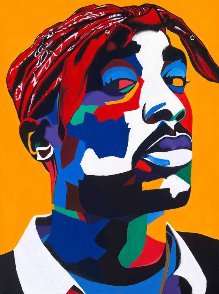 17 Best images about Tupac Art on Pinterest | Pop art ...