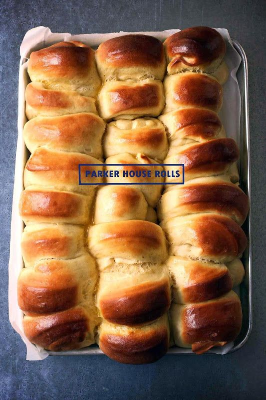 Parker House Rolls. Is that like Cider House Rules?    Parker House Rolls  adapted from Martha Stewart  Makes...