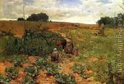 Cabbage Pickers  by John Moran
