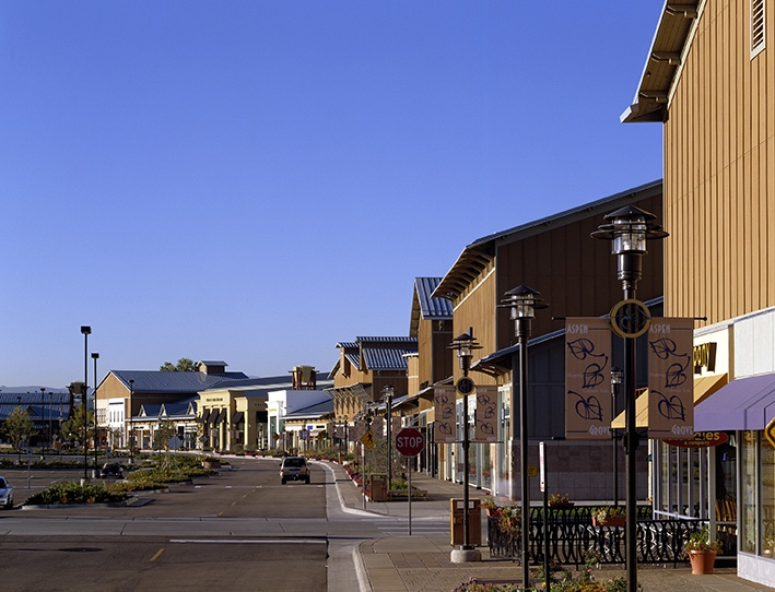 Aspen Grove lifestyle center, Colorado's premiere open-air retail village, is home to over 50 of Colorado's finest stores and restaurants.