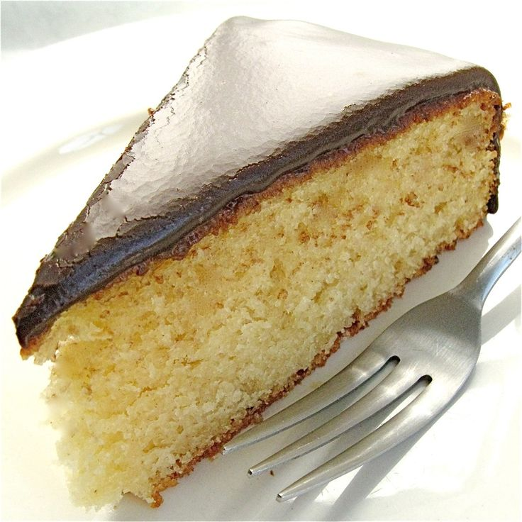 Recipe: Classic Yellow Cake with Fudge Frosting one layer from King ...