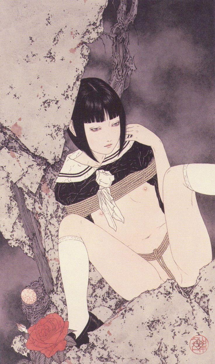 """higyaku-no-miki: """" 山本タカトさんの絵 """""""