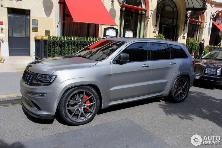matte grey jeep grand cherokee srt - Google Search | Grand ...