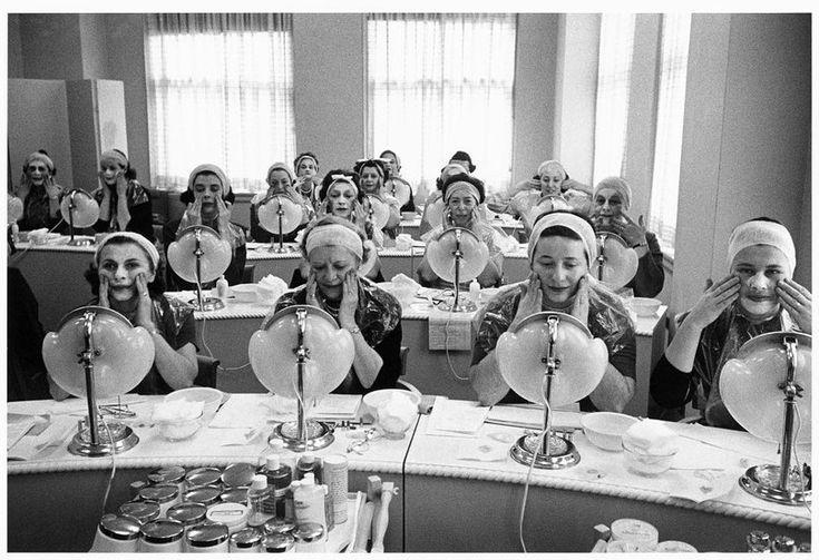 Beauty Course, New Tork, 1958 Любопытные исторические фотографии, которые вы вряд ли видели