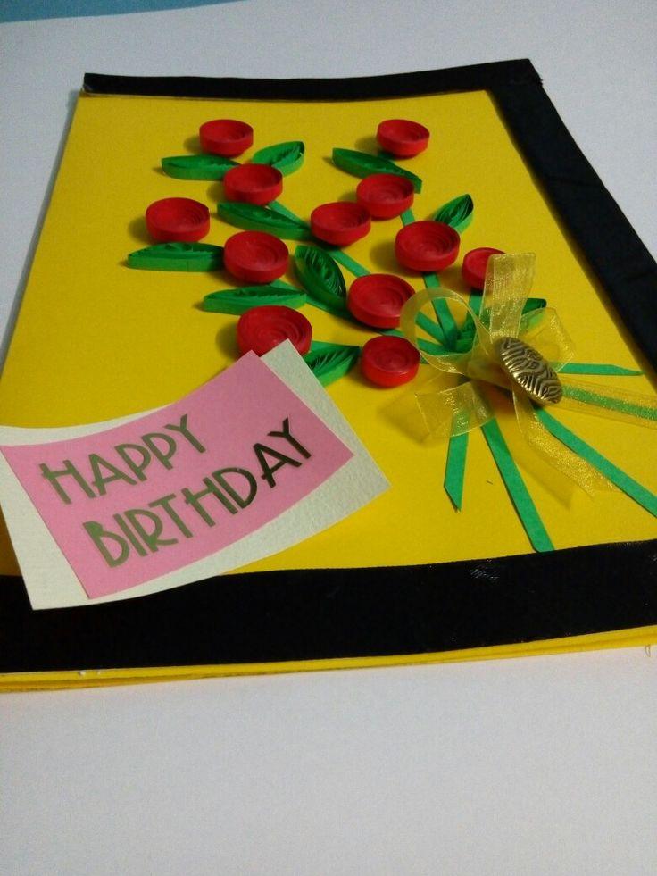 A handmade Birthday Greeting Card.....