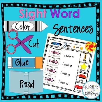 Do your kinders need practice with sight word fluency? Most do and this is the perfect resource to develop a strong sight word recognition and fluency at the same time! Sight word recognition is an important emergent reading skill