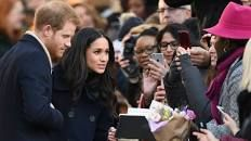 Prince Harry and Meghan Markle begin first joint royal visit - BBC News