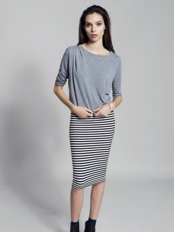 Stripes Ahoy Tube Skirt from Metalicus  #stripes #stripesahoy #metalicus