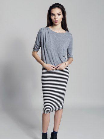Stripes Ahoy Tube Skirt from Metalicus  #stripes #stripesahoy #metalicus